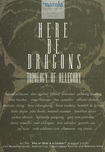 Here Be Dragons: Topology of Allegory