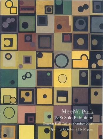 MeeNa Park: 1996 Solo Exhibition