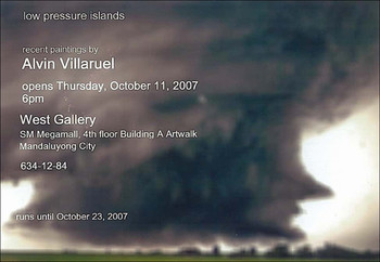 Low Pressure Islands: Recent Paintings by Alvin Villaruel