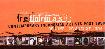 reformasi: contemporary Indonesian artists post 1998