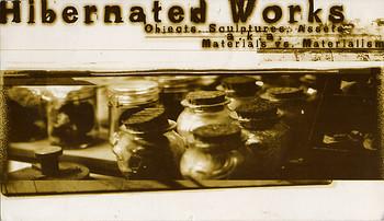 Hibernated Works: Objects, Sculptures, Assets a.k.a. Materials vs. Materialism