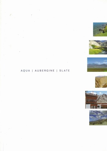 Aqua/ Aubergine/ Slate