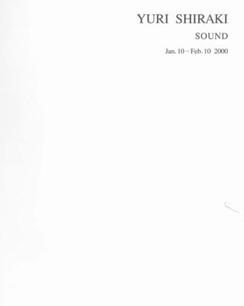 Yuri Shiraki: Sound