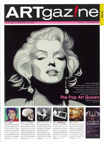 ARTgazine (All holdings in AAA)