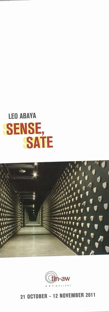 Leo Abaya: Sense, Sate