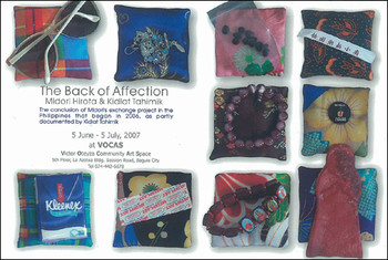 The Back of Affection: Midori Hirota & Kidlat Tahimik