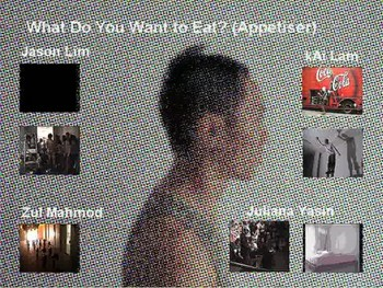 What Do You Want To Eat? (Appetiser) - Video Portfolio