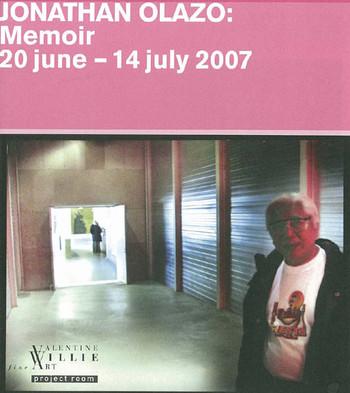Jonathan Olazo: Memoir