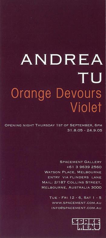 Orange Devours Violet