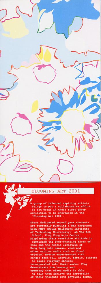 Blooming Art 2001