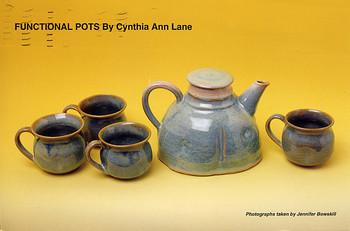 Functional Pots by Cynthia Ann Lane