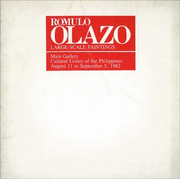 Romulo Olazo: Large-Scale Paintings