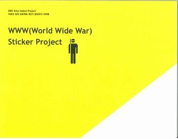 WWW (World Wide War): Sticker Project