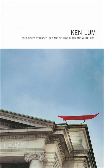 Ken Lum: Four Boats Stranded: Red and Yellow, Black and White, 2001