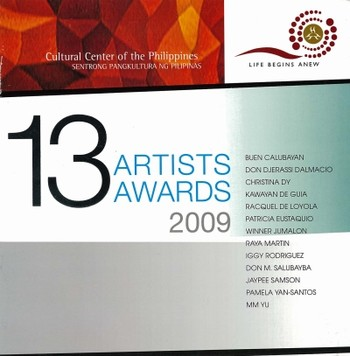 13 Artists Awards 2009