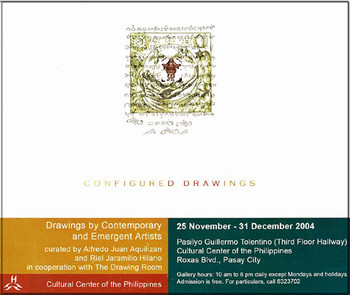 Configured Drawings: Drawings by Contemporary and Emergent Artists