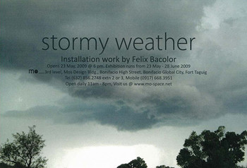 Stormy Weather: Installation Work by Felix Bacolor