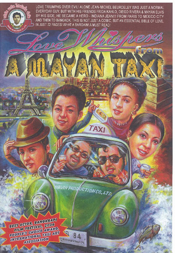 Love Whispers From Mayan Taxi