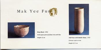 Porcellania by Mak Yee Fun