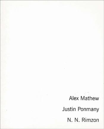 Alex Mathew, Justin Ponmany, N.N. Rimzon