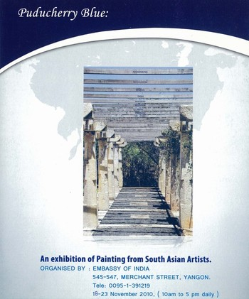 Puducherry Blue: An Exhibition of Painting from South Asian Artists
