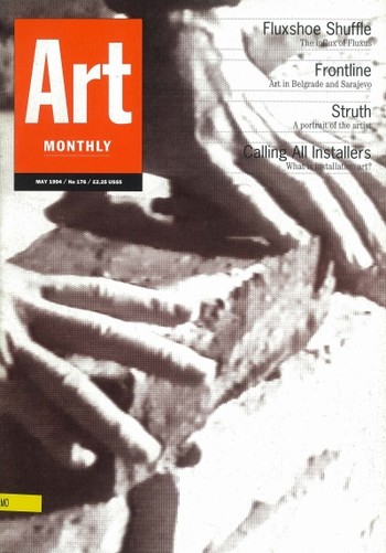 Art Monthly (UK) (All holdings in AAA)