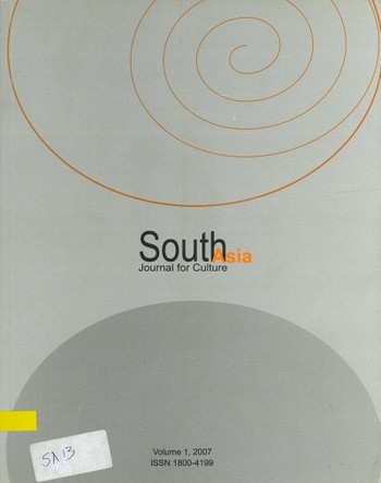 South Asia Journal for Culture (All holdings in AAA)