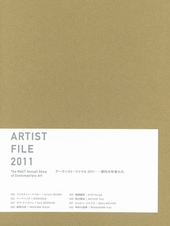 ARTIST FILE 2011: The NACT Annual Show of Contemporary Art