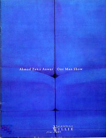 Ahmad Zakii Anwar: One Man Show