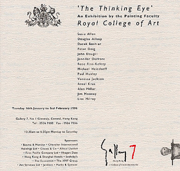 The Thinking Eye: An Exhibition by the Painting Faculty, Royal College of Art