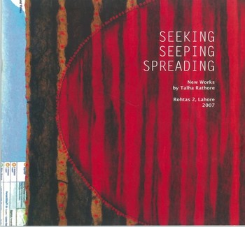Seeking, Seeping, Spreading: New Works by Talha Rathore