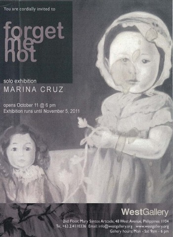 Marina Cruz: Forget Me Not