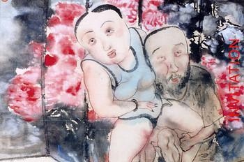Mundane Life Enjoy: Water-ink painting Exhibition by Li Jin