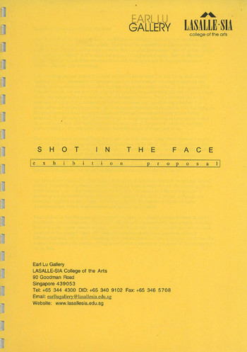 Shot in the Face: Exhibition Proposal