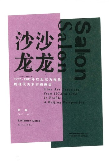 Salon, Salon: Fine Art Practices from 1972 to 1982 in Profile — A Beijing Perspective