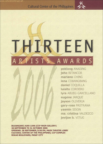 Thirteen Artists Awards