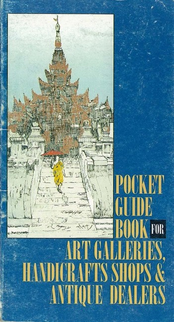 Pocket Guide Book for Art Gallery, Handicrafts Shops & Antique Dealers