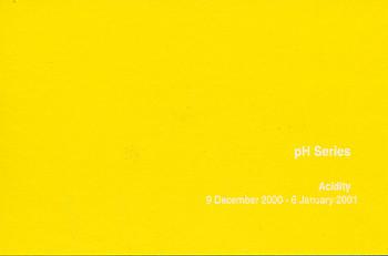 pH Series Acidity