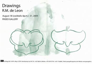 R.M. de Leon: Drawings