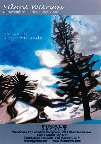 Silent Witness: Recent Works by Keiye Miranda