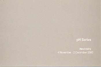 pH Series Neutrality