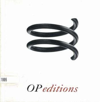 OP editions 9503
