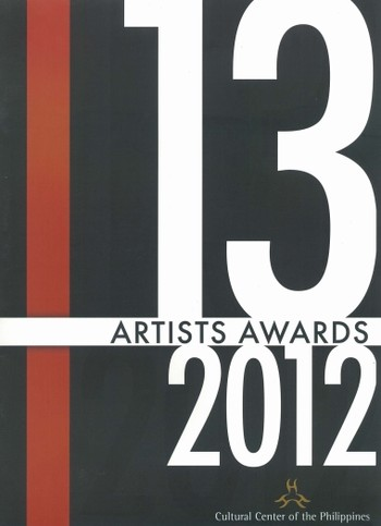 13 Artists Awards 2012