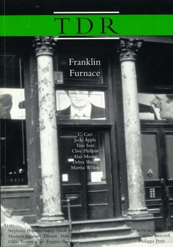 The Drama Review: Franklin Furnace
