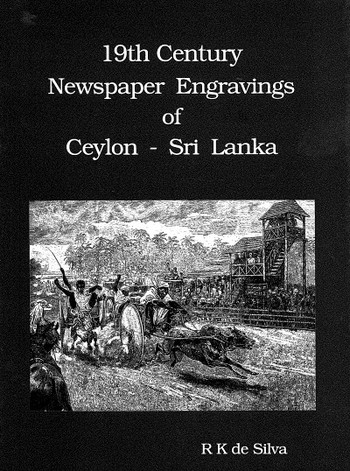 19th Century Newspaper Engravings of Ceylon - Sri Lanka