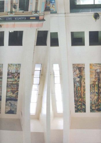 Guide to the murals at Tanjong Pagar Railway Station, Singapore