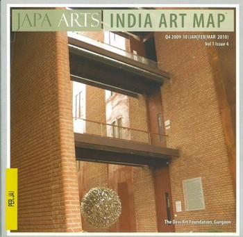 Japa Arts India Art Map (All holdings in AAA)