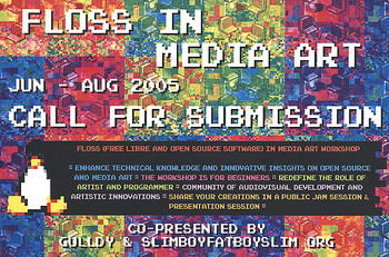 Floss and Media Art Part 1 - Pure Data and Media Art
