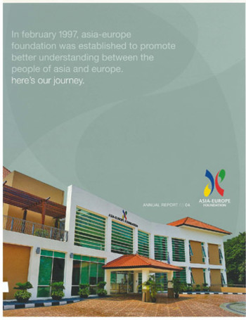 Asia-Europe Foundation Annual Report 03.04.