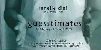 Ranelle Dial: Guesstimates